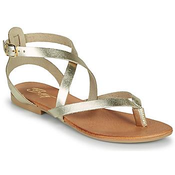Sapatos Mulher Sandálias Betty London OPALACE Ouro