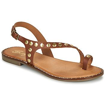 Sapatos Mulher Sandálias Betty London OPATIO Camel