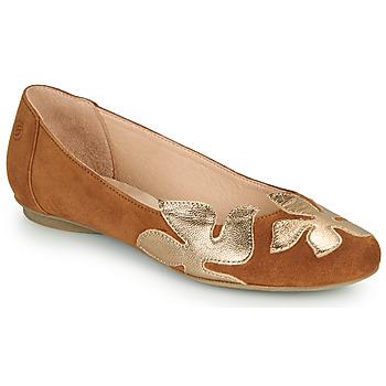 Sapatos Mulher Sabrinas Betty London ERUNE Camel / Ouro