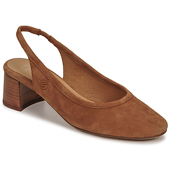 Sapatos Mulher Escarpim Betty London OMMINE Conhaque