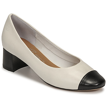Sapatos Mulher Escarpim Betty London OMINA Branco / Preto