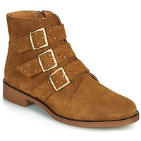 Sapatos Mulher Botas baixas Betty London LYS Conhaque