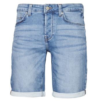 Textil Homem Shorts / Bermudas Only & Sons  ONSPLY Azul