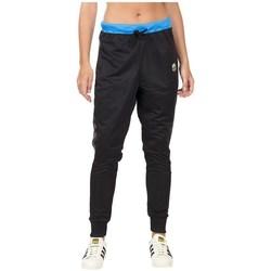 Textil Mulher Calças de treino adidas Originals Loose Pants Preto, Azul