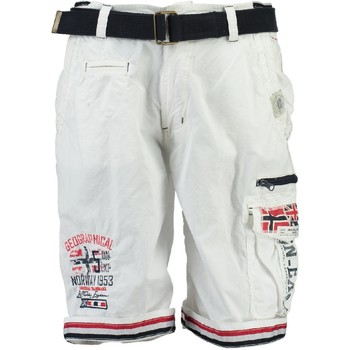 Textil Rapaz Shorts / Bermudas Geographical Norway PACOME Branco