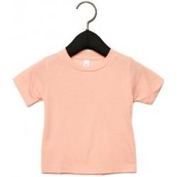 Textil Criança T-Shirt mangas curtas Canvas CA3413T Peach Triblend
