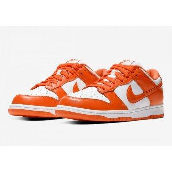 Sapatos Sapatilhas Nike SB Dunk Low Syracuse White/Orange