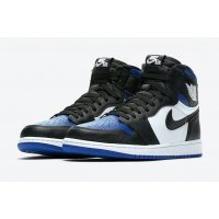 Sapatos Sapatilhas de cano-alto Nike Air Jordan 1 Game Royal Black/White-Game Royal-Black