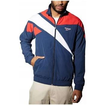 Textil Homem Sweats Reebok Sport LF Vector Tracktop Azul marinho