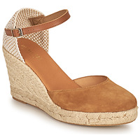Sapatos Mulher Sandálias Minelli RAYANA Castanho / Bege