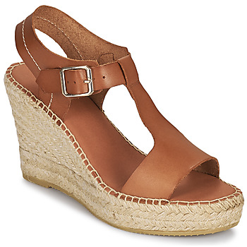 Sapatos Mulher Sandálias Minelli LIZZIE Castanho