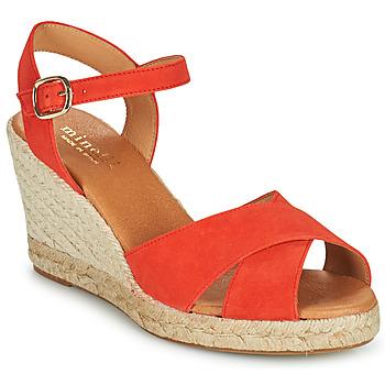 Sapatos Mulher Sandálias Minelli OMELLA Vermelho