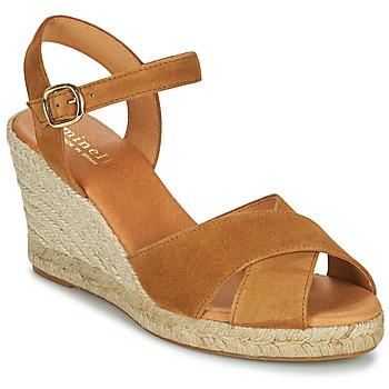 Sapatos Mulher Sandálias Minelli OMELLA Castanho