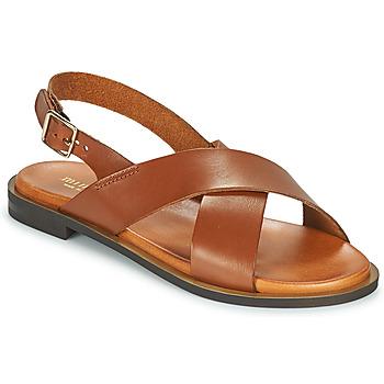 Sapatos Mulher Sandálias Minelli DONA Castanho