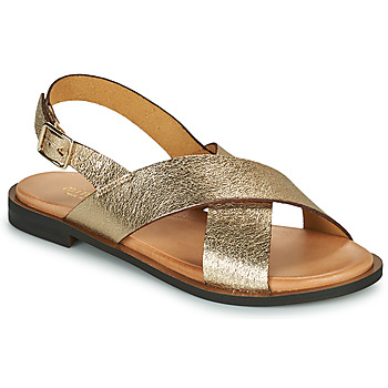 Sapatos Mulher Sandálias Minelli DONA Ouro