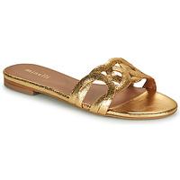 Sapatos Mulher Chinelos Minelli NANCIA Ouro