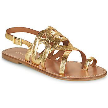 Sapatos Mulher Sandálias Minelli NOUNNA Ouro