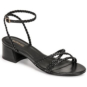 Sapatos Mulher Sandálias Minelli HARIETTE Preto