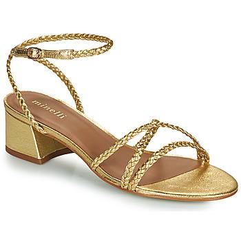 Sapatos Mulher Sandálias Minelli HARIETTE Ouro