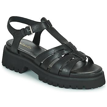 Sapatos Mulher Sandálias Minelli HELLHA Preto