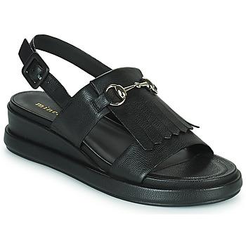 Sapatos Mulher Sandálias Minelli HEMYE Preto