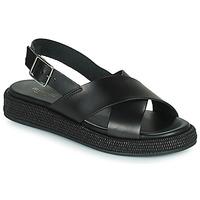 Sapatos Mulher Sandálias Minelli HADDIA Preto