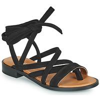 Sapatos Mulher Sandálias Minelli HURIA Preto