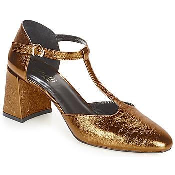 Sapatos Mulher Escarpim Minelli GAELANE Bronze