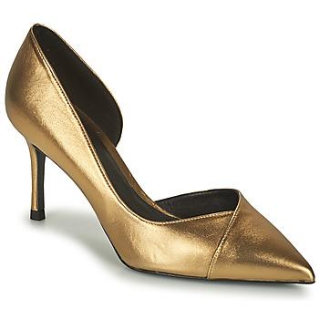 Sapatos Mulher Escarpim Minelli GYLIANE Bronze