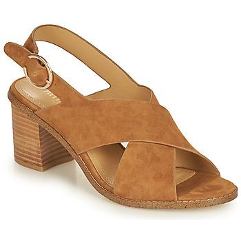 Sapatos Mulher Sandálias Minelli CASIMIERA Castanho