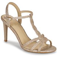 Sapatos Mulher Sandálias Minelli CHADA Ouro