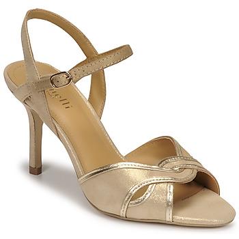 Sapatos Mulher Sandálias Minelli PHILOMENE Ouro