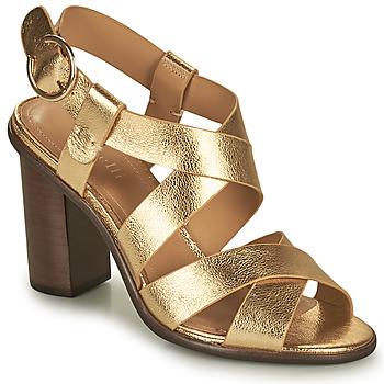 Sapatos Mulher Sandálias Minelli THIYA Ouro