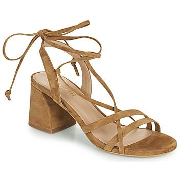 Sapatos Mulher Sandálias Minelli TATIA Castanho