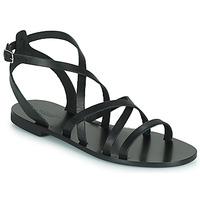 Sapatos Mulher Sandálias Minelli HOULLY Preto