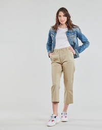 Textil Mulher Chinos Tommy Jeans TJW HIGH RISE STRAIGHT Bege