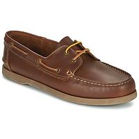 Sapatos Homem Sapato de vela So Size MALIK Castanho