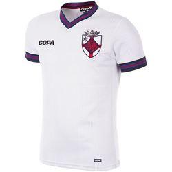 Textil Homem T-Shirt mangas curtas Copa Football Maillot Copa Angleterre blanc