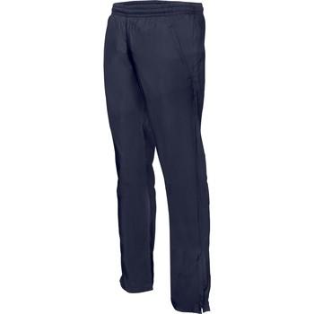 Textil Homem Calças de treino Proact Pantalon de survêtement ajustée bleu marine