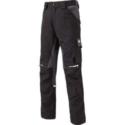 Textil Calça com bolsos Dickies Pantalon  Gdt Premium noir/gris