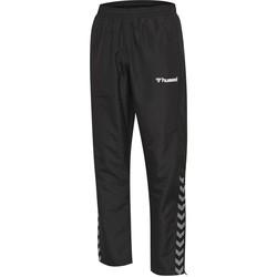 Textil Criança Calças de treino Hummel Pantalon enfant  Authentic Micro noir/blanc