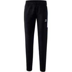 Textil Mulher Calças de treino Erima Pantalon femme  Worker Squad noir/blanc