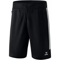 Textil Homem Shorts / Bermudas Erima Short  Worker Squad noir/blanc