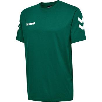 Textil Criança T-Shirt mangas curtas Hummel T-shirt enfant  hmlGO cotton vert sapin