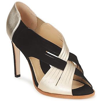 Sapatos Mulher Escarpim Moschino MINEK Preto / Ouro