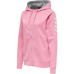 Textil Mulher Sweats Hummel Veste à capuche femme  Hmlgo Zip rose