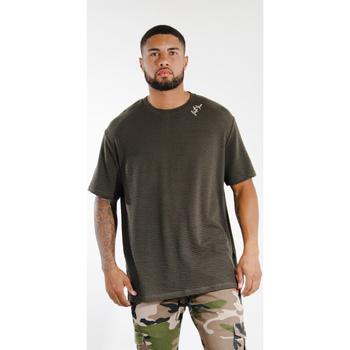 Textil Homem T-Shirt mangas curtas Sixth June T-shirt  logo épaule kaki