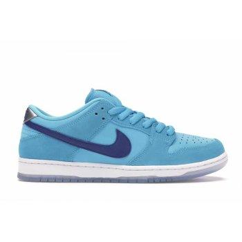 Sapatos Sapatilhas Nike SB Dunk Low Blue Fury  Blue Fury/Deep Royal-Blue Fury