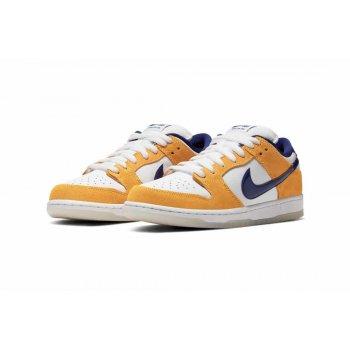 Sapatos Sapatilhas Nike Air Force 1 high x Comme des Garçons White/Regency Purple-Laser Orange