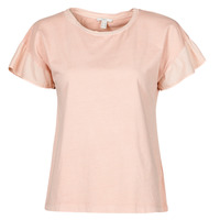 Textil Mulher T-Shirt mangas curtas Esprit T-SHIRTS Rosa